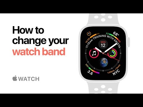 Apple Watch Series 4 — How to change your watch band — Apple