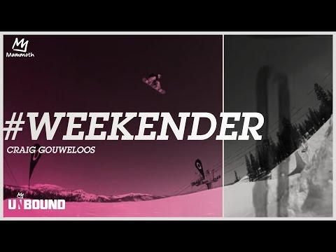 #WEEKENDER - CRAIG GOUWELOOS