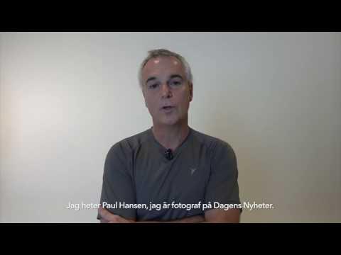 Paul Hansen skriver för frihet