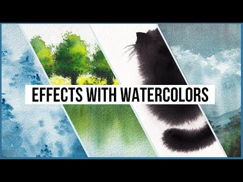 Create Special Effects With These Watercolor Techniques!