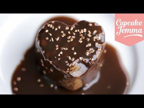 Sticky Toffee Pudding Recipe | Cupcake Jemma