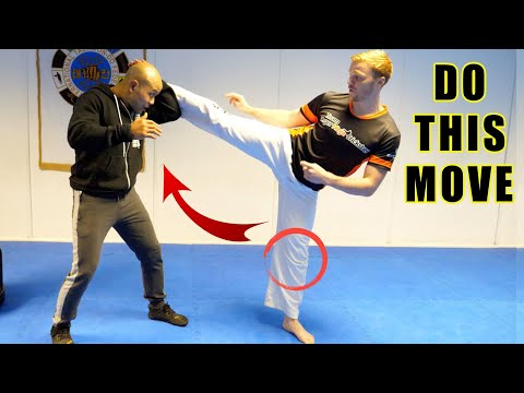How to do the powerful round Kick | Master Wong - GNT