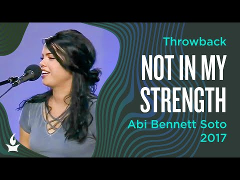 Not in My Strength -- The Prayer Room Live Throwback Moment