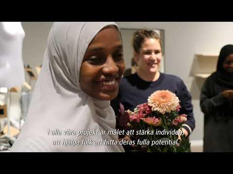 Amal Said är 2020 års vinnare av #GeTillbaka-stipendiet