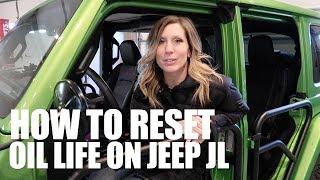 Reset service Jeep WRANGLER JL 4 generazione