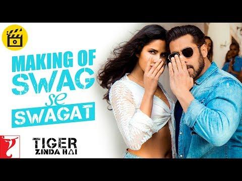 Making Of The Song - Swag Se Swagat   Tiger Zinda Hai   Salman Khan   Katrina Kaif