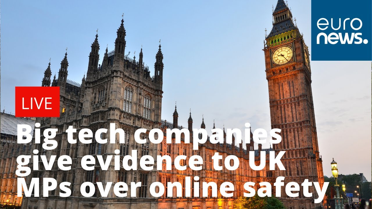 Big tech companies testify to UK MPs over online safety