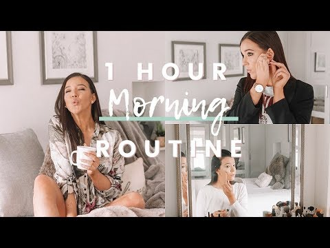 REALISTIC 1 HOUR MORNING ROUTINE FOR WORK 2018 - UCwF252wCaOD2Y49TuB-s8JQ