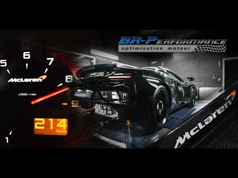 Mclaren MP4-12C Remap Stage 1 By BR-Performance