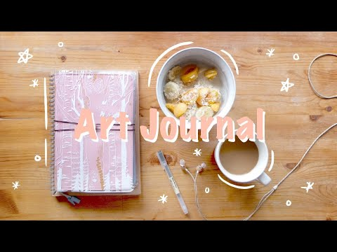 ✧・゚:* Minimalist Aesthetic Art Journal *:・゚✧ Hobonichi Cousin ・✫・゜・