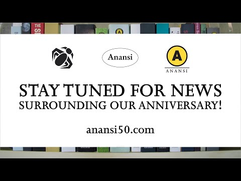 50 Years of Publishing Really Good Books. #Anansi50