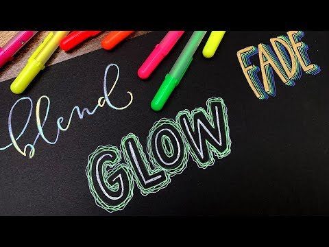 5 Gel Pen Lettering Projects Anyone Can Do