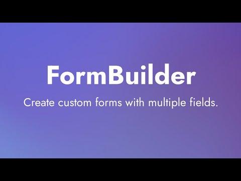 Mobirise | Form Builder Extension