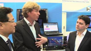 Kontron and Cavium demo a 40Gbps security DPI system