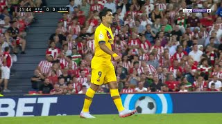 LaLiga 2019 Moments: Luis Suarez squanders golden opportunity after Atheltic's defensive mix-up