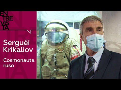 Serguéi Krikaliov, cosmonauta ruso – Entrevista en RT