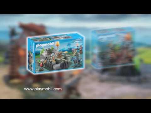 PLAYMOBIL presenteert ... Een nieuw gevecht tussen de Valkenridders en de Drakenridders! (België)