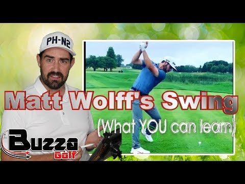 Matthew Wolff Golf Swing (What YOU can learn)