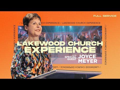 Joyce Meyer LIVE    Lakewood Church Service  Sunday 11am