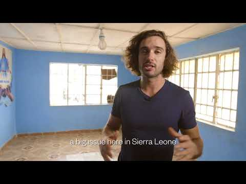 GSK and Comic Relief team go to Sierra Leone