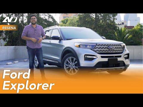 Ford Explorer 2020 - Transporte familiar al estilo americano