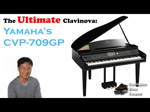 The Ultimate Clavinova: Yamaha's CVP-709 GP