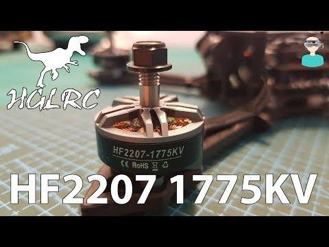 HGLRC HF2207 1755KV Motors - Batman220 Upgrade & Thrust Tests - UCOs-AacDIQvk6oxTfv2LtGA
