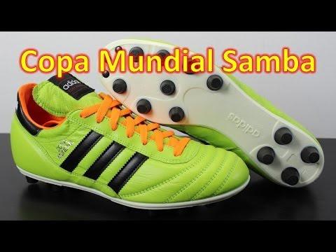 Adidas Copa Mundial Samba Solar Slime - Unboxing + On Feet - UCUU3lMXc6iDrQw4eZen8COQ