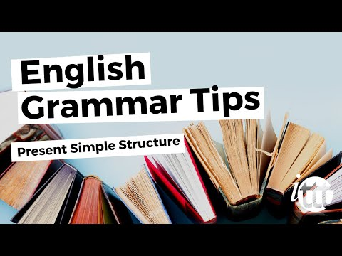 English Grammar -- Present Simple -- Structure -- Online ESL Teachers