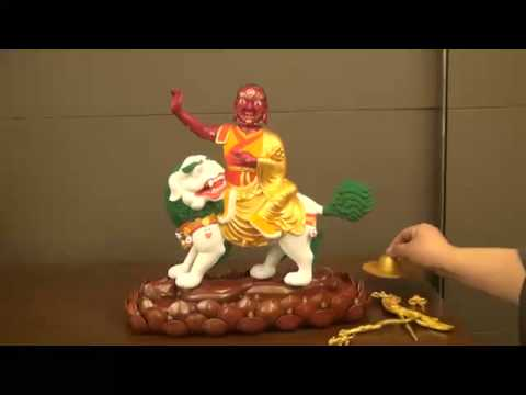 A step by step explanation of Dorje Shugden's iconography in 3D!