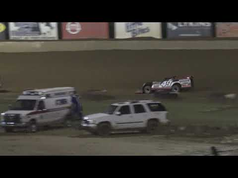 Florence Speedway | 7/17/21 | Crate Late Models | Feature - dirt track racing video image
