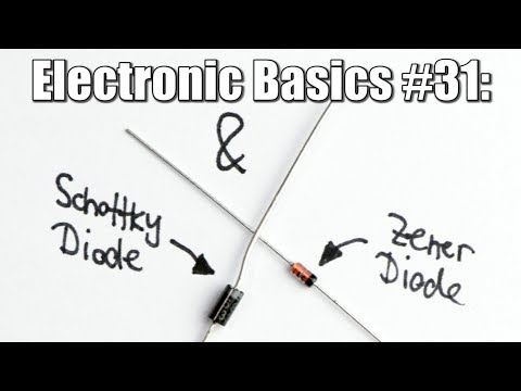 Electronic Basics #31: Schottky Diode & Zener Diode