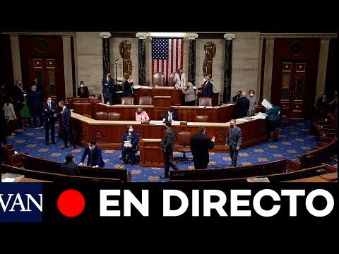 DIRECTO: El Congreso acelera la ratificación de Biden después del asalto al Capitolio