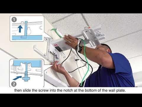 Epson EB-1485Fi Projector Installation Guide #5 - Attach the Projector