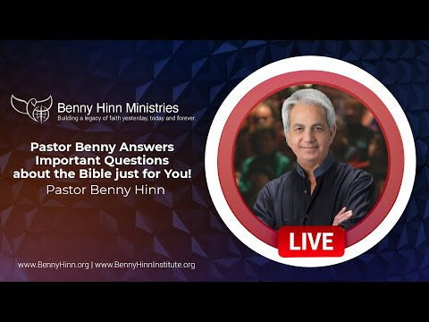 Pastor Benny Answers Important Questions about the Bible just for You!