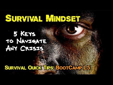 Survival Mindset:5 Keys to Navigate Any Crisis
