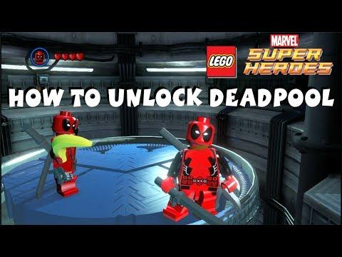 How to Unlock Deadpool - Lego Marvel Super Heroes 720P HD - default