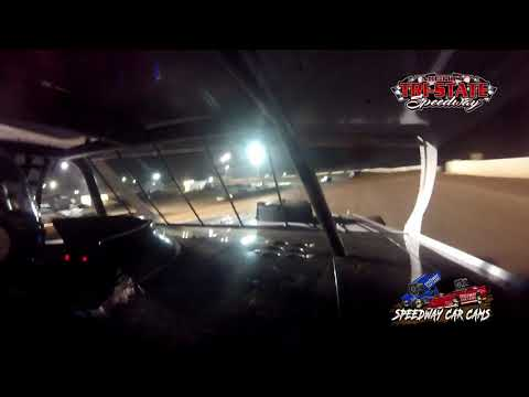 #75 Kyle Ledford - USRA Modified - 6-12-2021 Tri-State Speedway - In Car Camera - dirt track racing video image