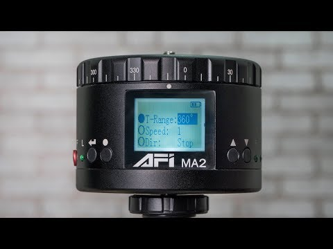 AFI MA2 360 Degree Panoramic Head Full Review for Time Lapse Videos