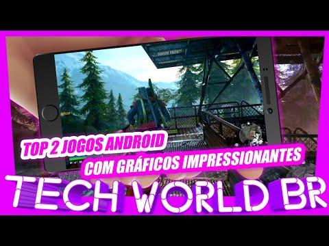 TOP 2 JOGOS ANDROID COM GRÁFICOS IMPRESSIONANTES!!