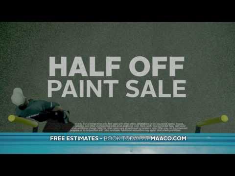 Half Off Paint Sale - Deer