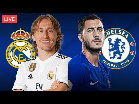 REAL MADRID vs CHELSEA - LIVE STREAMING - Champions League - Football Match