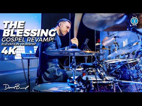 The Blessing (Gospel Revamp!) Drum Cover 4K // Elevation Worship // Daniel Bernard