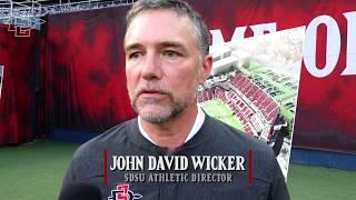 SDSU ATHLETICS: JOHN DAVID WICKER - MISSION VALLEY STADIUM UPDATE