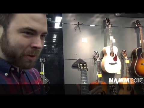 NAMM 2017 PRODUCT REVIEW : COLLINGS GUITARS : 2 SIZE