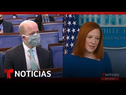 EN VIVO: Rueda de prensa de la Casa Blanca | 22 de febrero | Noticias Telemundo