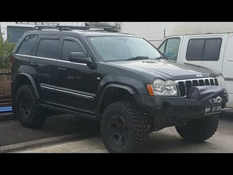 Upgrading WK Grand Cherokee Rear Shocks