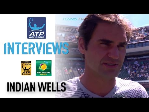 Federer Discusses Indian Wells SF Preparations