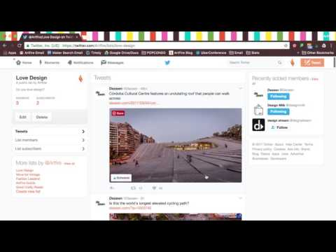 SETTING UP TWITTER FOR BUSINESS - PART 4: Lists, Moments and Widgets