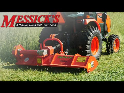 *NEW* - Del Morino Flail Mower - Review and Operation Picture